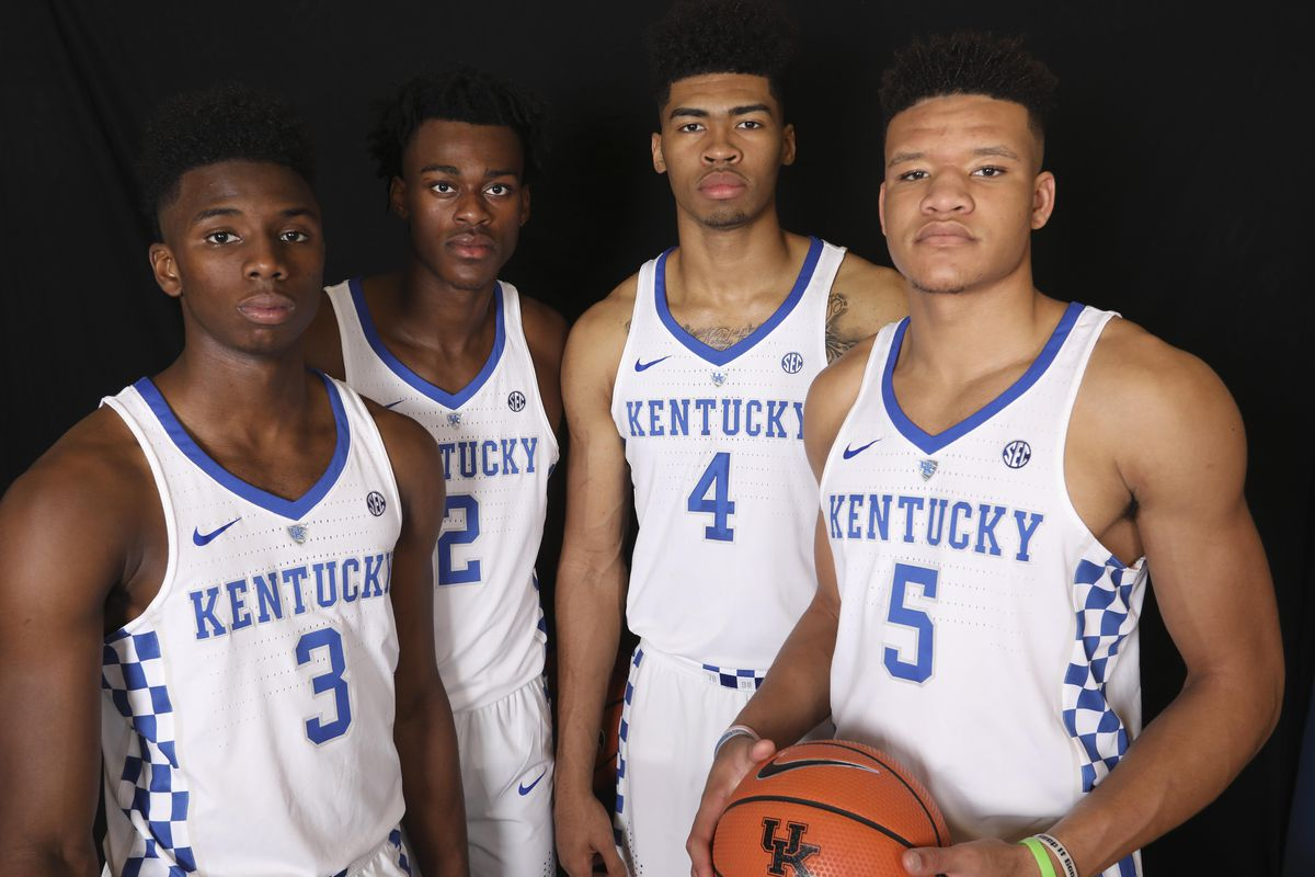 Kentucky Basketball Our First Look At The New Wildcats In: Kentucky Basketball: 5 Things We Learned From Media Day