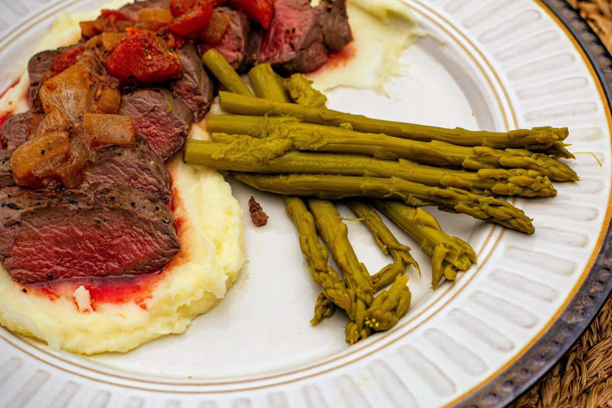 """Practically Gourmet Backstrap in """"Braising the Wild."""" Credit: Jack Hennessy"""