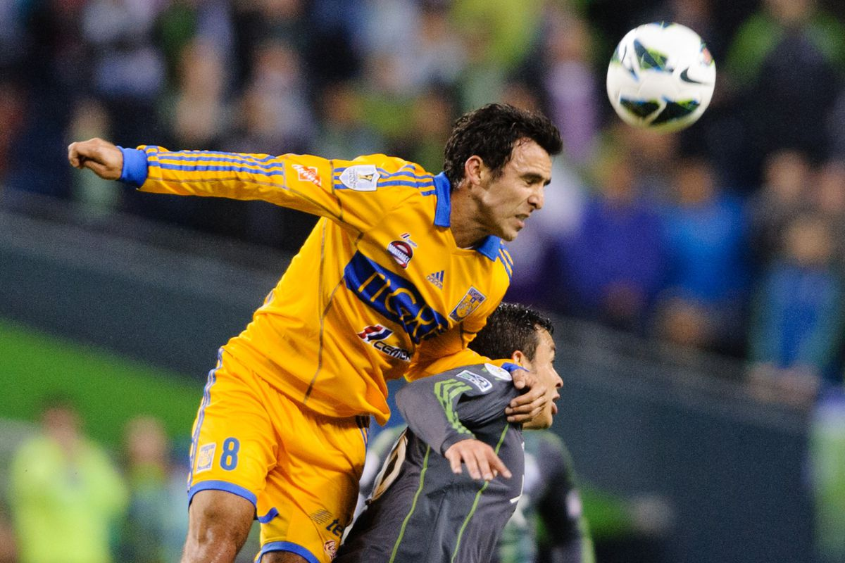 Bornstein (in a past Tigres performance) is still not seeing much playing time.