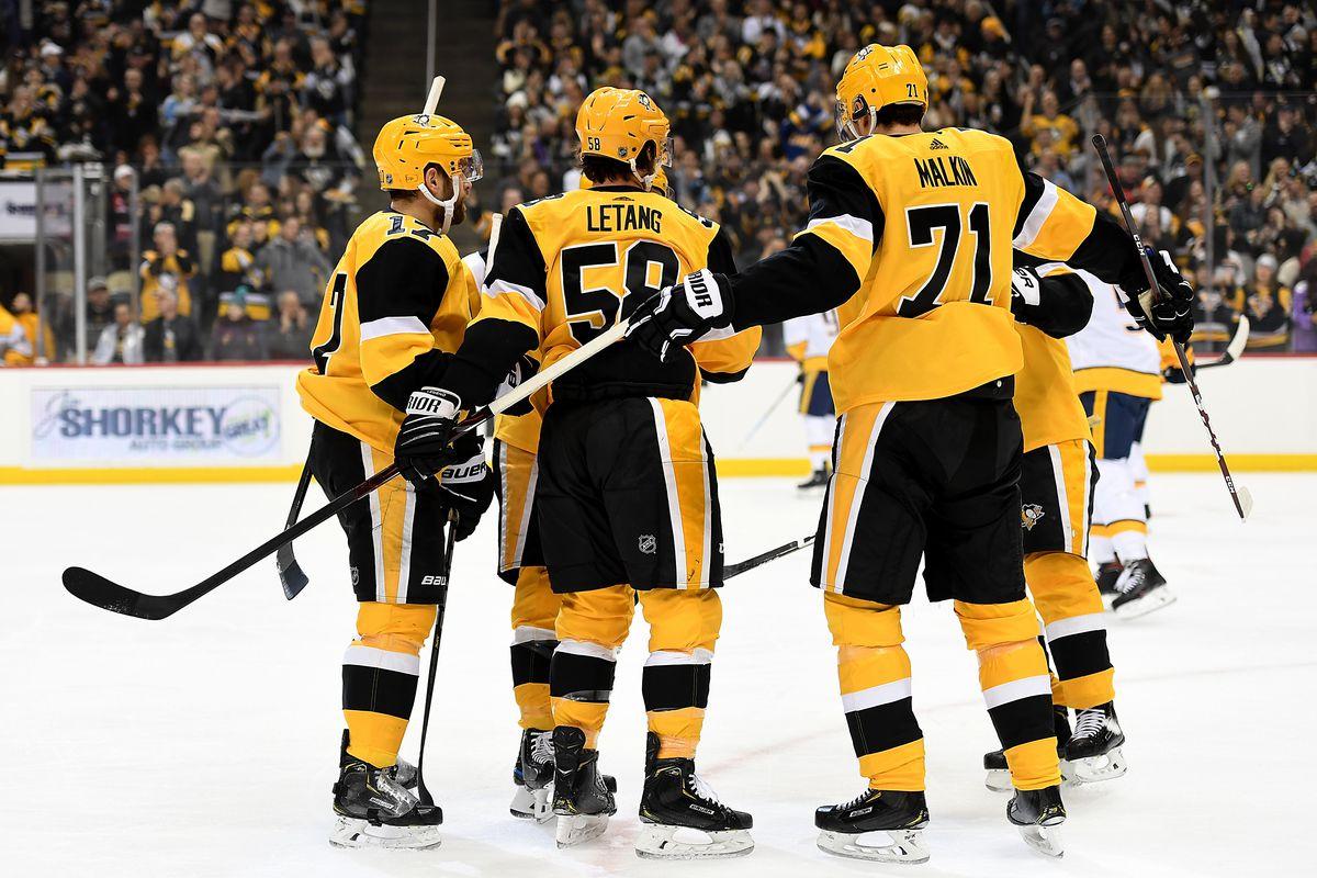 NHL: DEC 28 Predators at Penguins
