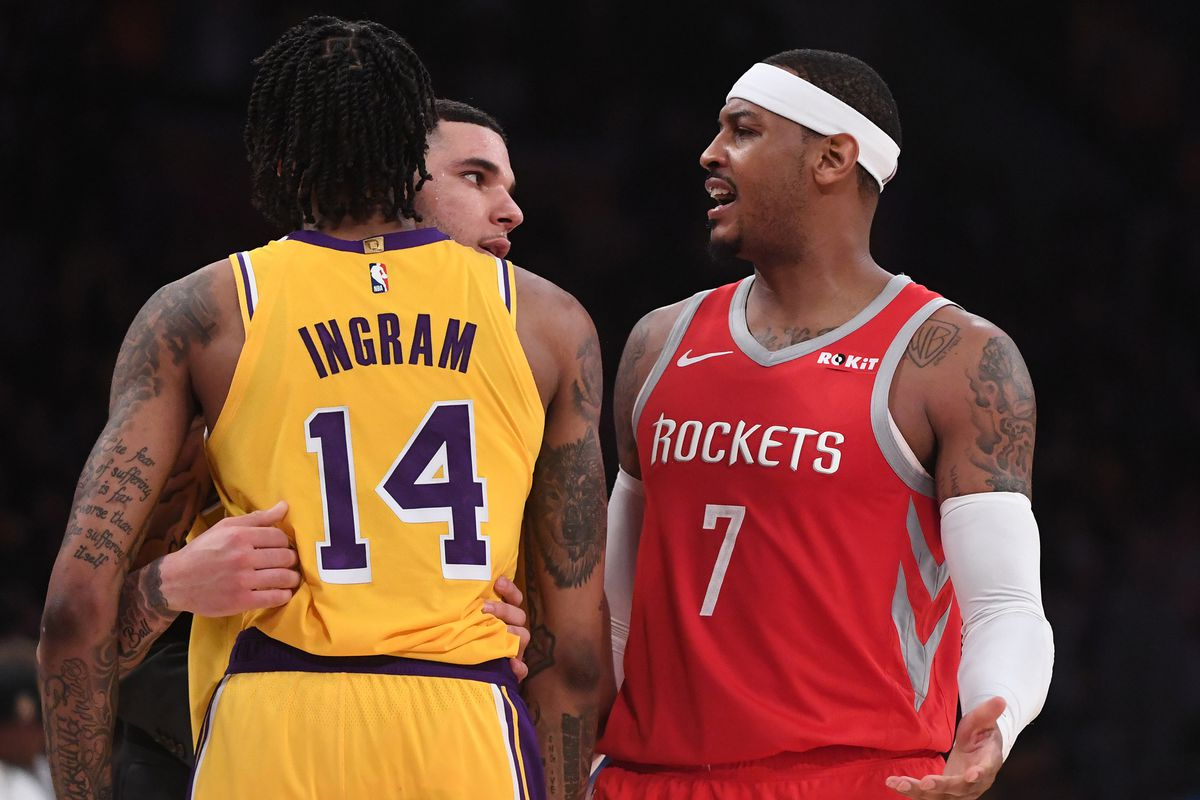 best website 84acc 7e60d NBA Free Agent Rumors: Lakers are not interested in Carmelo ...