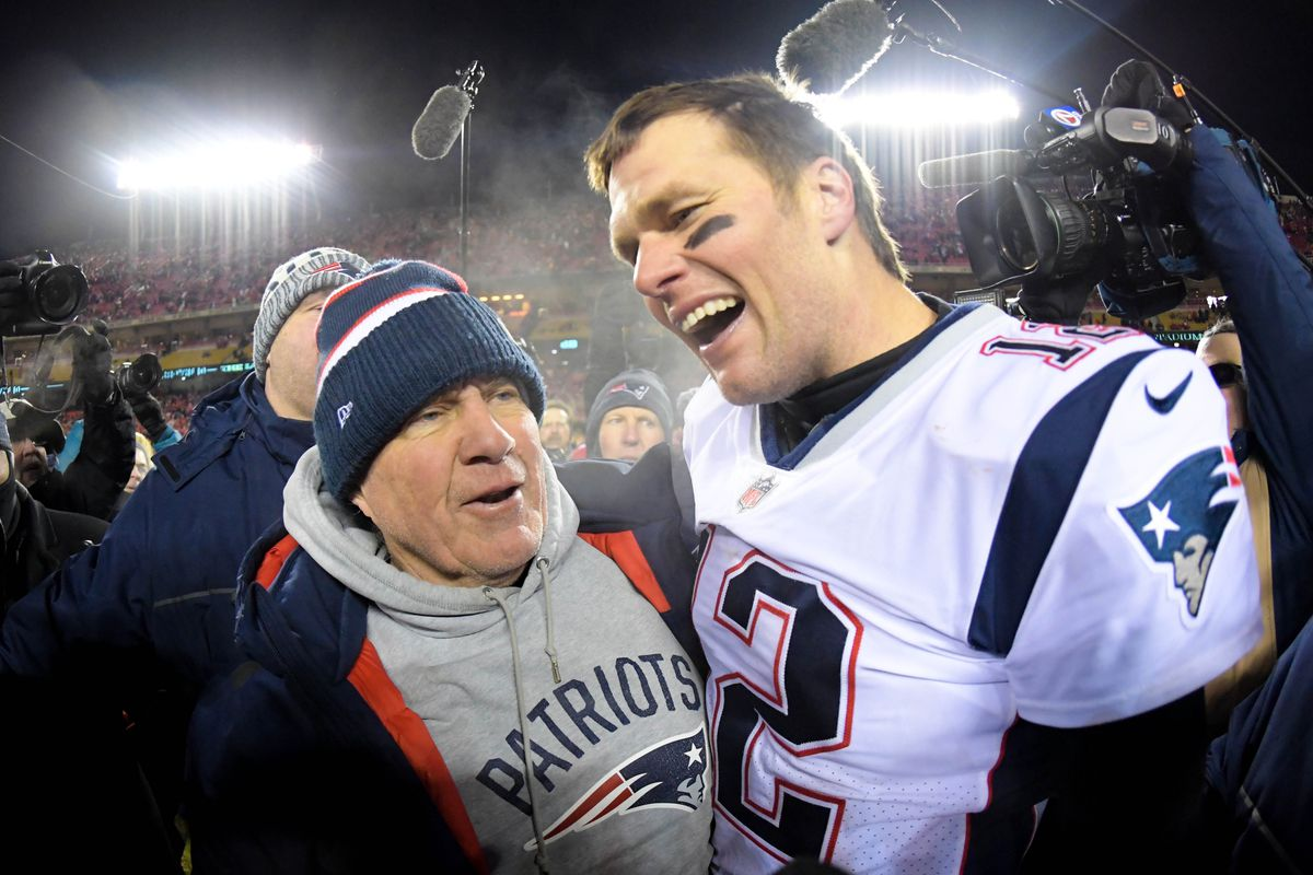 45948d079 Kirby Lee-USA TODAY Sports. Tom Brady and Bill Belichick have won the Super  Bowl ...