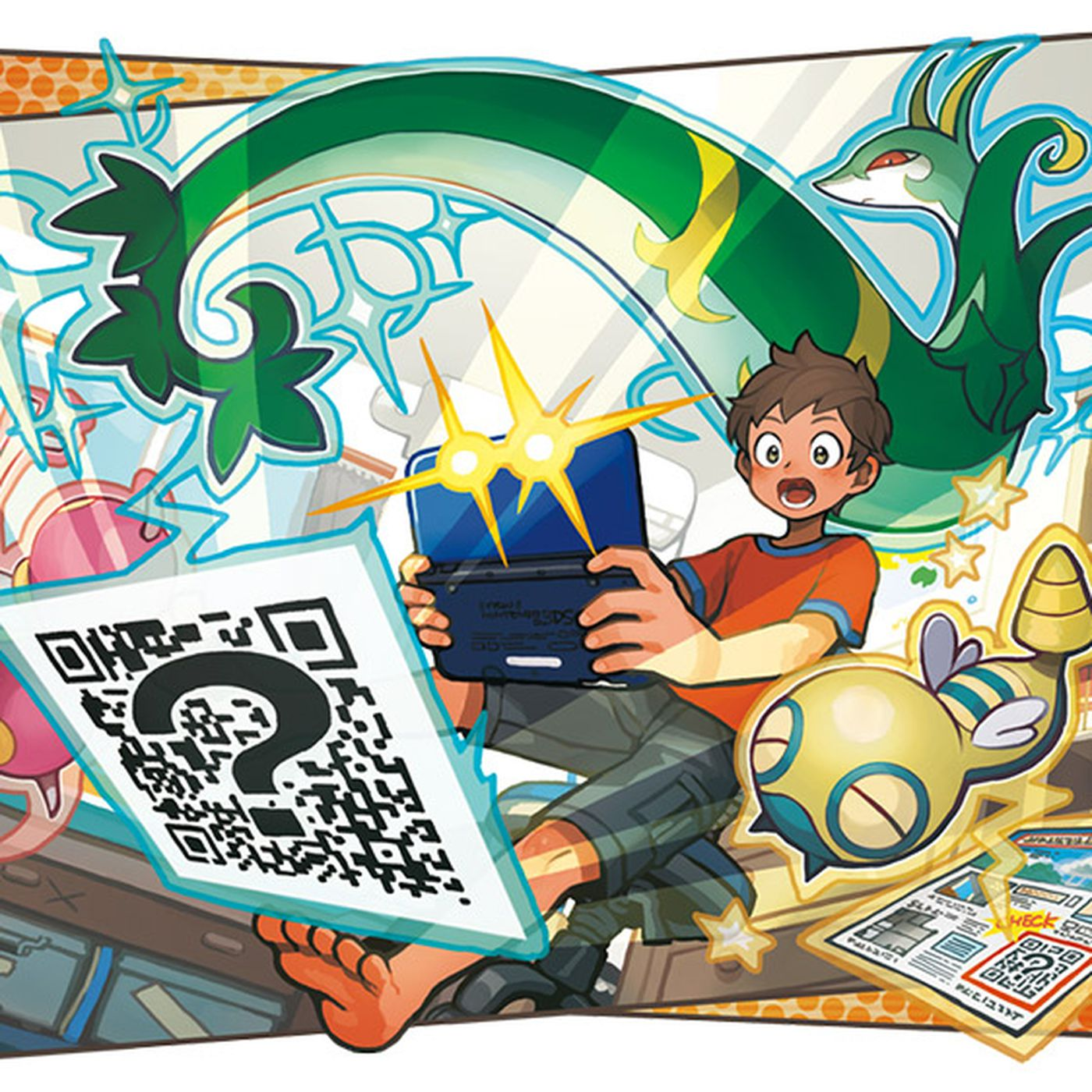 These Pokémon Sun and Moon QR codes will help you fill out