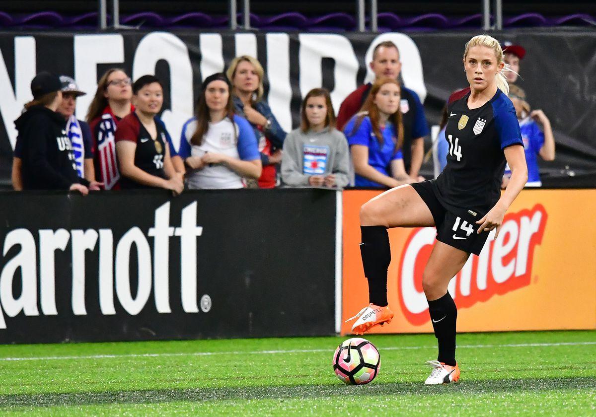 SOCCER: OCT 23 Women's - USA v Switzerland