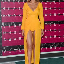 The Bombshell (2015): Gigi Hadid's VMAs look last year similarly included a lot of leg — but the model went for an eye-popping (and very expensive) bodysuit gown by Emilia Wickstead.
