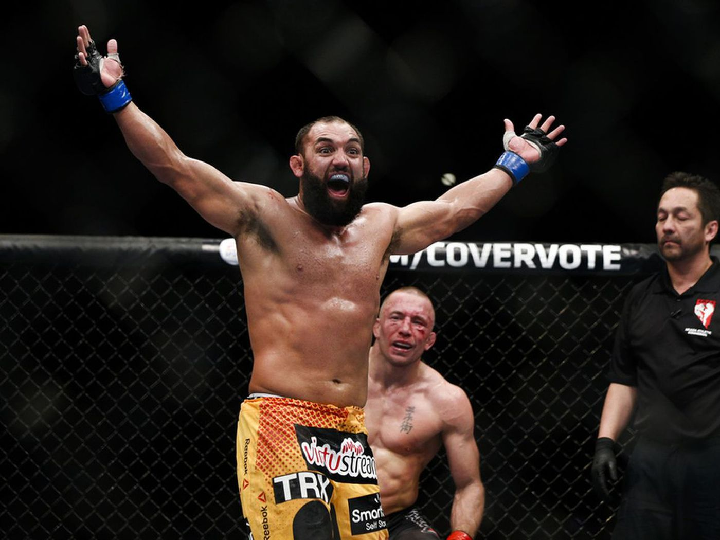 Johny Hendricks: Georges St-Pierre should've stayed out of UFC after I  exposed him - MMAmania.com