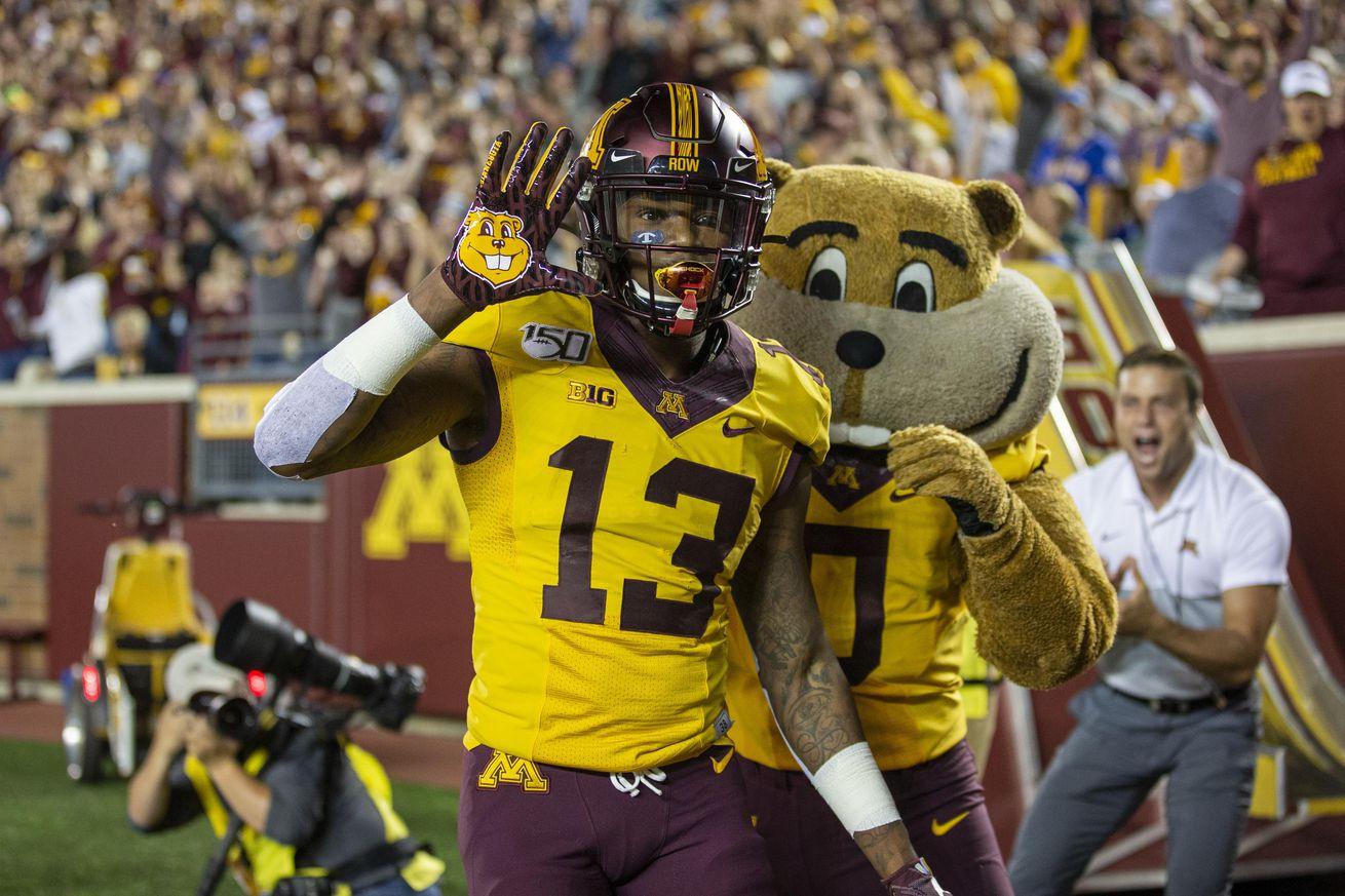 NCAA Football: South Dakota State at Minnesota
