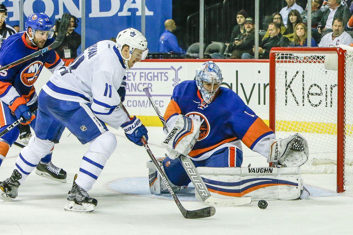 NHL: OCT 30 Maple Leafs at Islanders