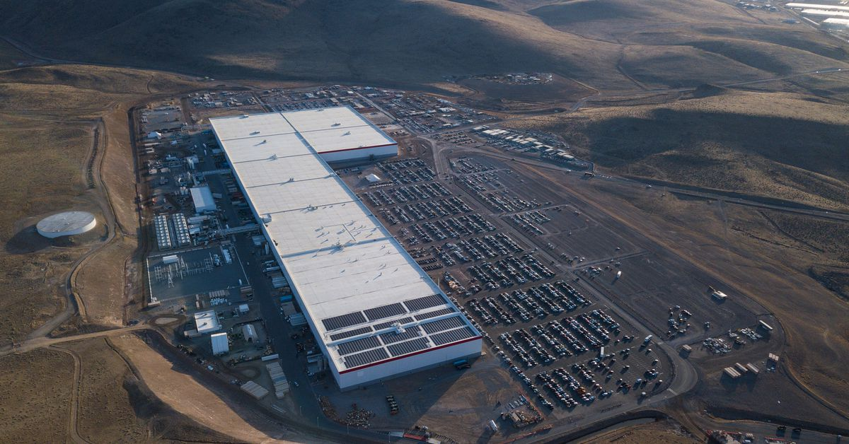 Tesla's shrinking its workforce at the Nevada Gigafactory because of the coronavirus