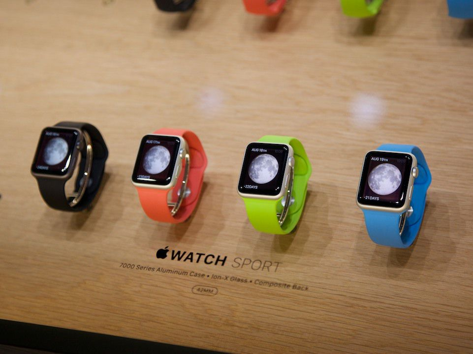 The Apple Watch will also have — you guessed it — heart-rate monitoring.