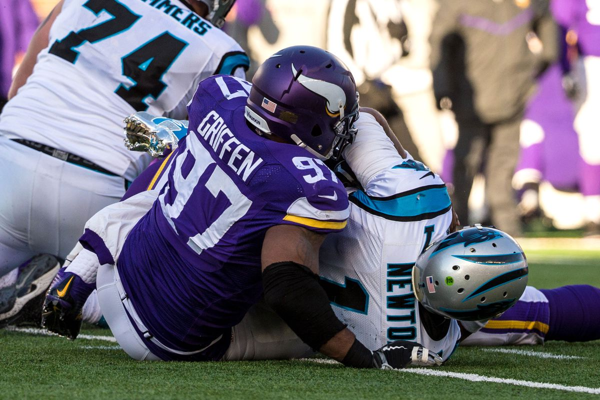 Everson Griffen has another great matchup this week.