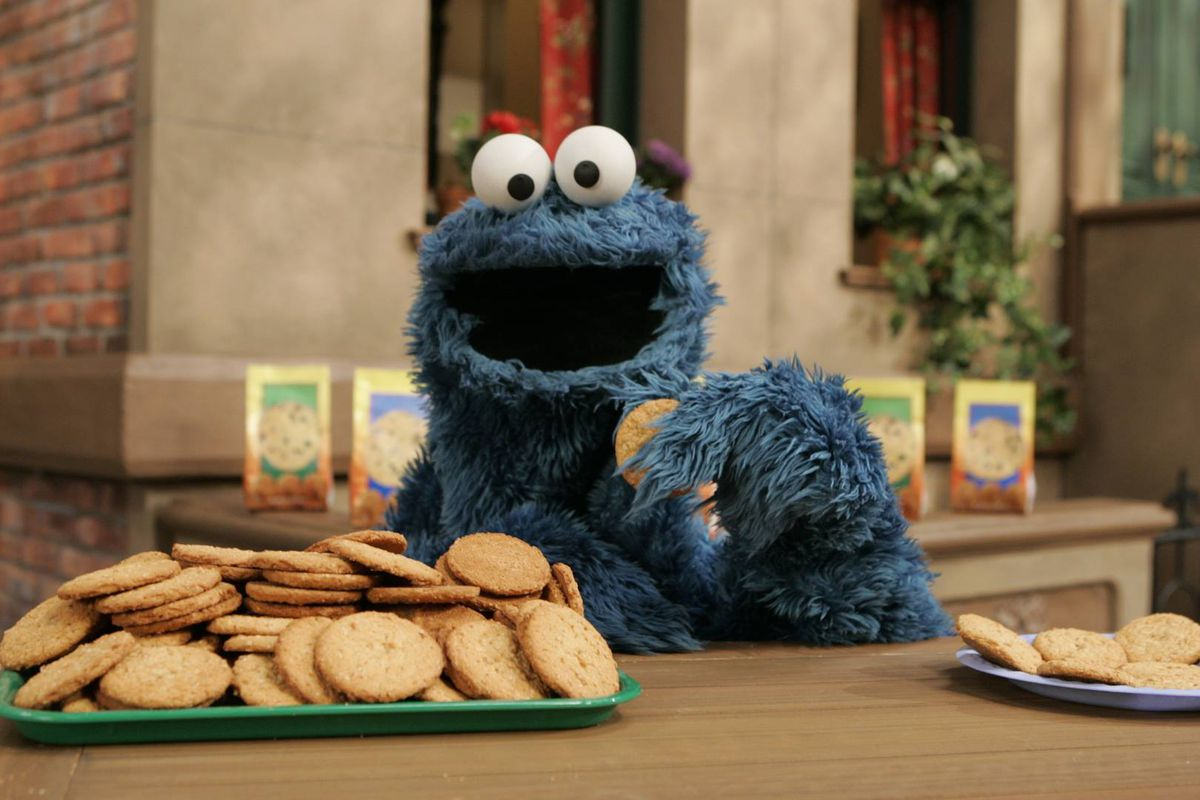 Watch cookie monster