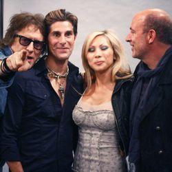 At the Mick Rock photo shoot inside John Varvatos. Photo by Randy Ceballos.