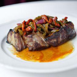 Cabone pork chop