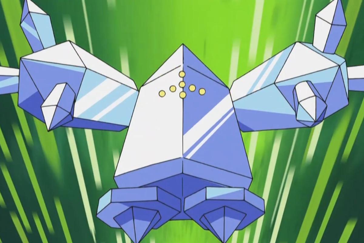 Regice in the Pokémon anime