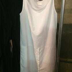 White cotton dress, $190