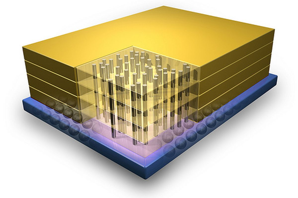 3D DRAM created by IBM and Micron, 128GBps memory on the way - The ...