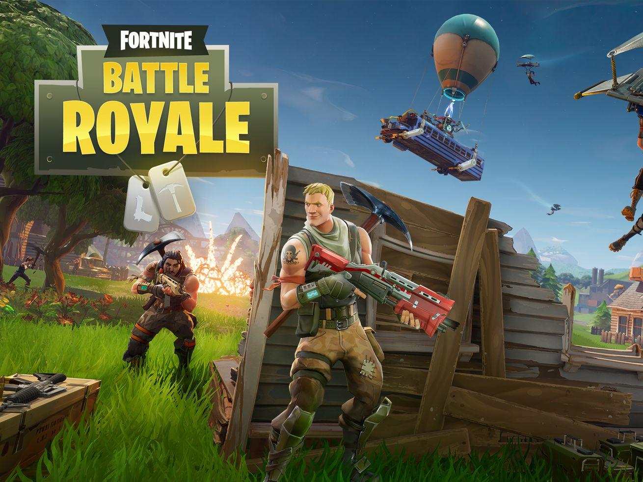 A screenshot of Fortnite Battle Royale