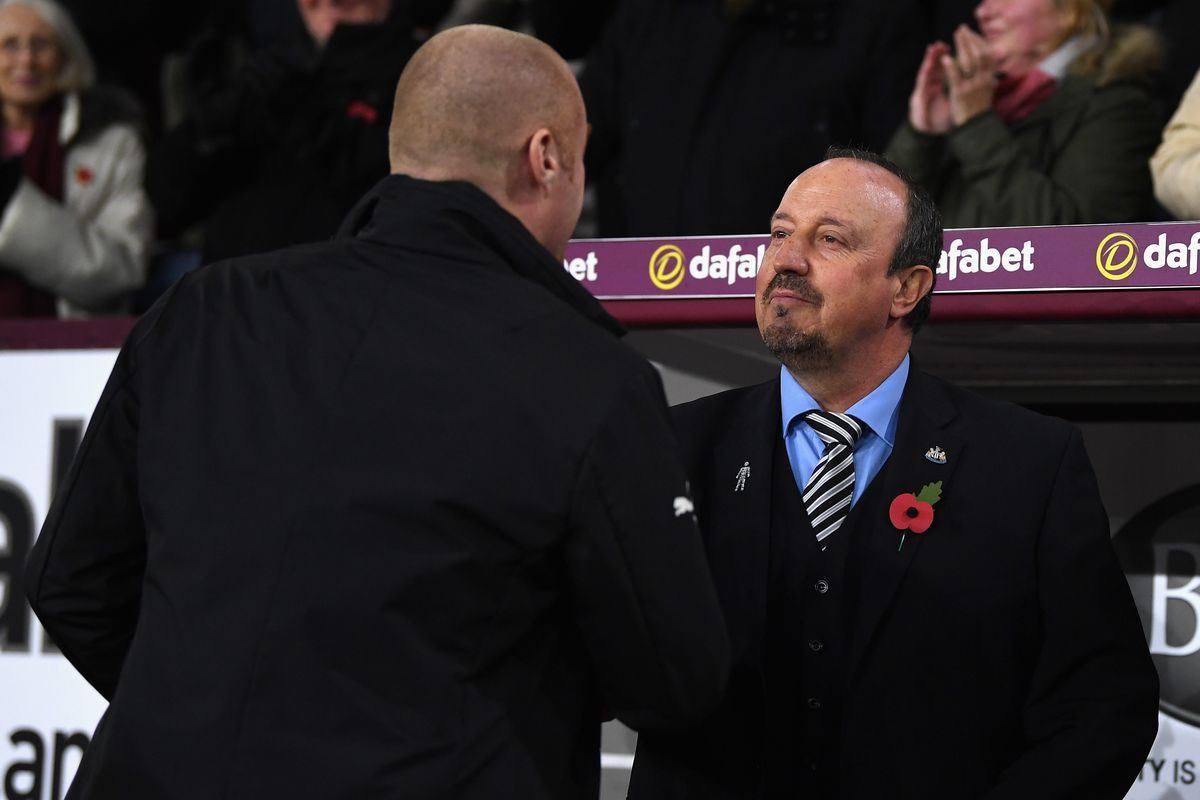 Rafa Benitez and Sean Dyche