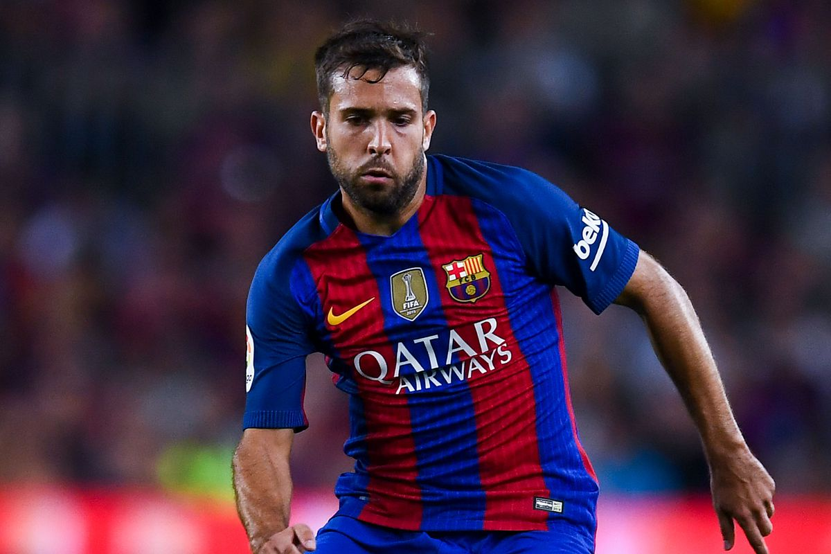 BREAKING Barcelona s Jordi Alba suffers injury in Champions