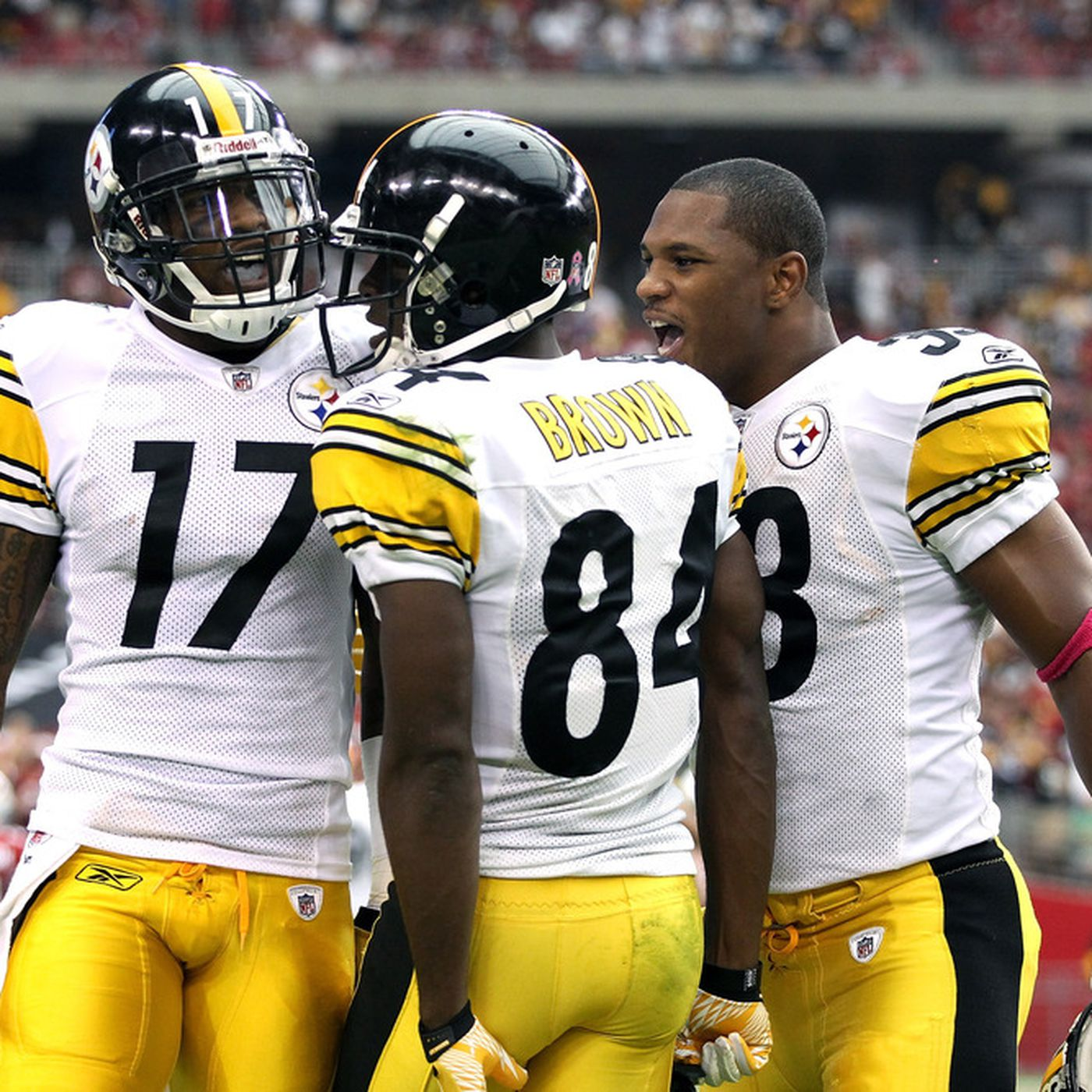 Image result for Antonio Brown: There's Some Awkwardness That I Got A New Contract And Mike Wallace Didn't