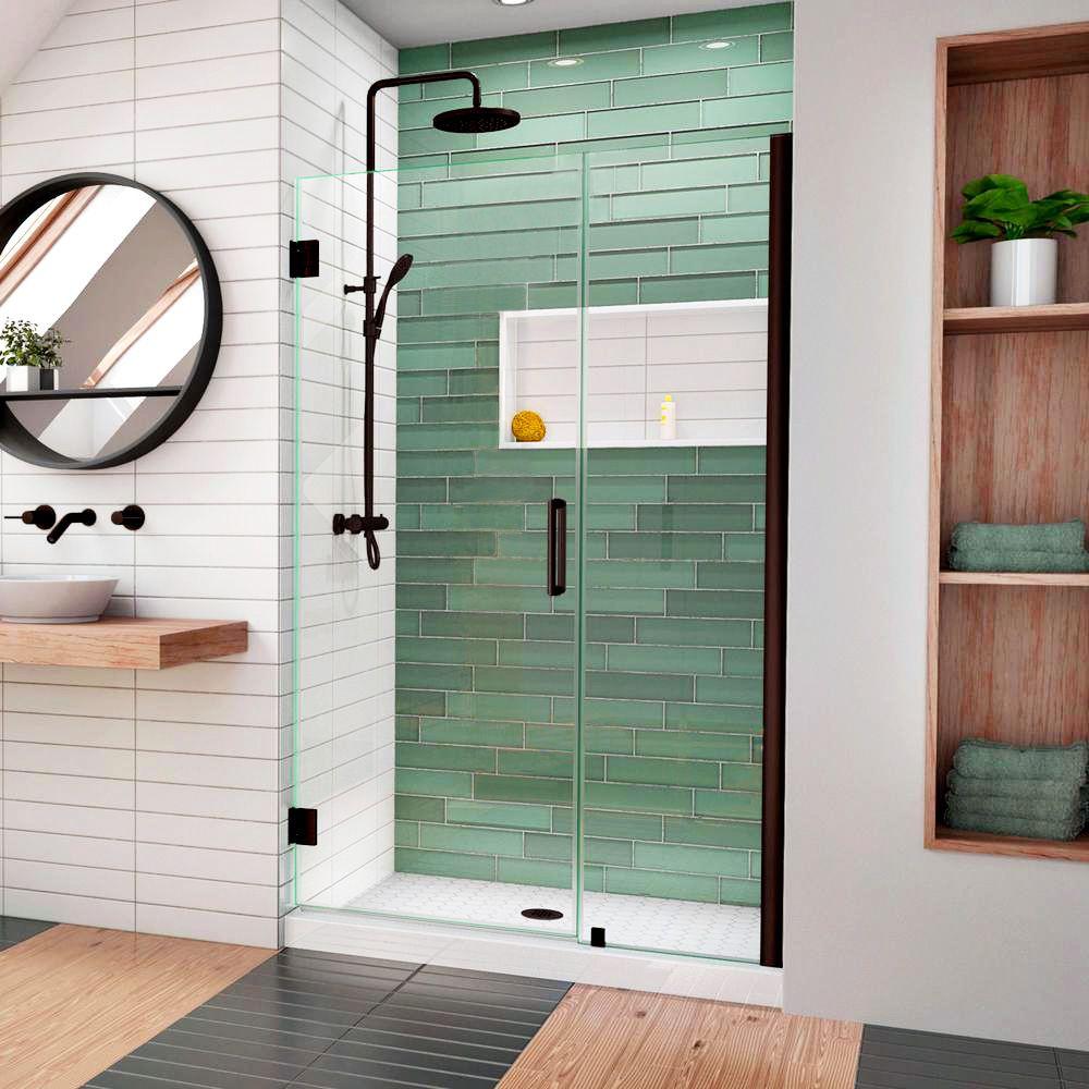 Open and shut shower door