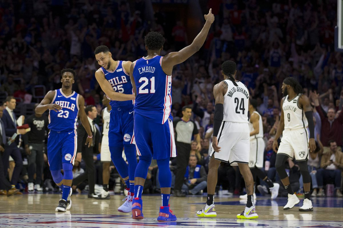 0eb79e9c3 The End  76ers eliminate Nets from the playoffs in Game 5