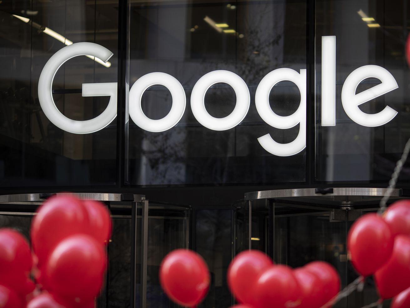 Google's office in London.