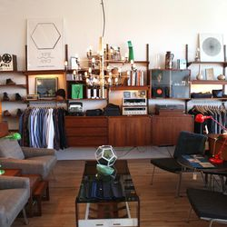 """<b><a href=""""http://mohawkgeneralstore.com/catalog/"""">Mohawk General Store</a>, Silver Lake</b><br /> Another great resource for indie designers, this one out of East LA. The silhouettes are on the voluminous side; the prints subtly ethnic-inspired, and th"""