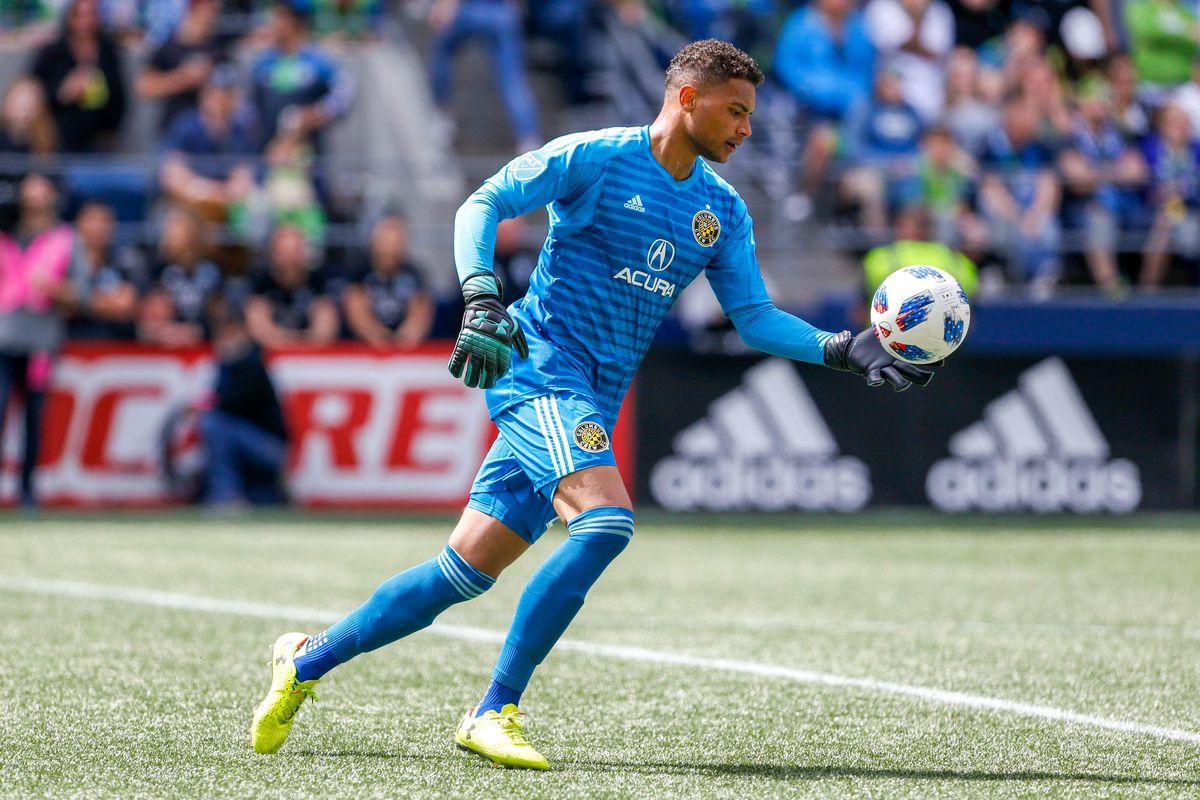 MLS: Columbus Crew at Seattle Sounders FC