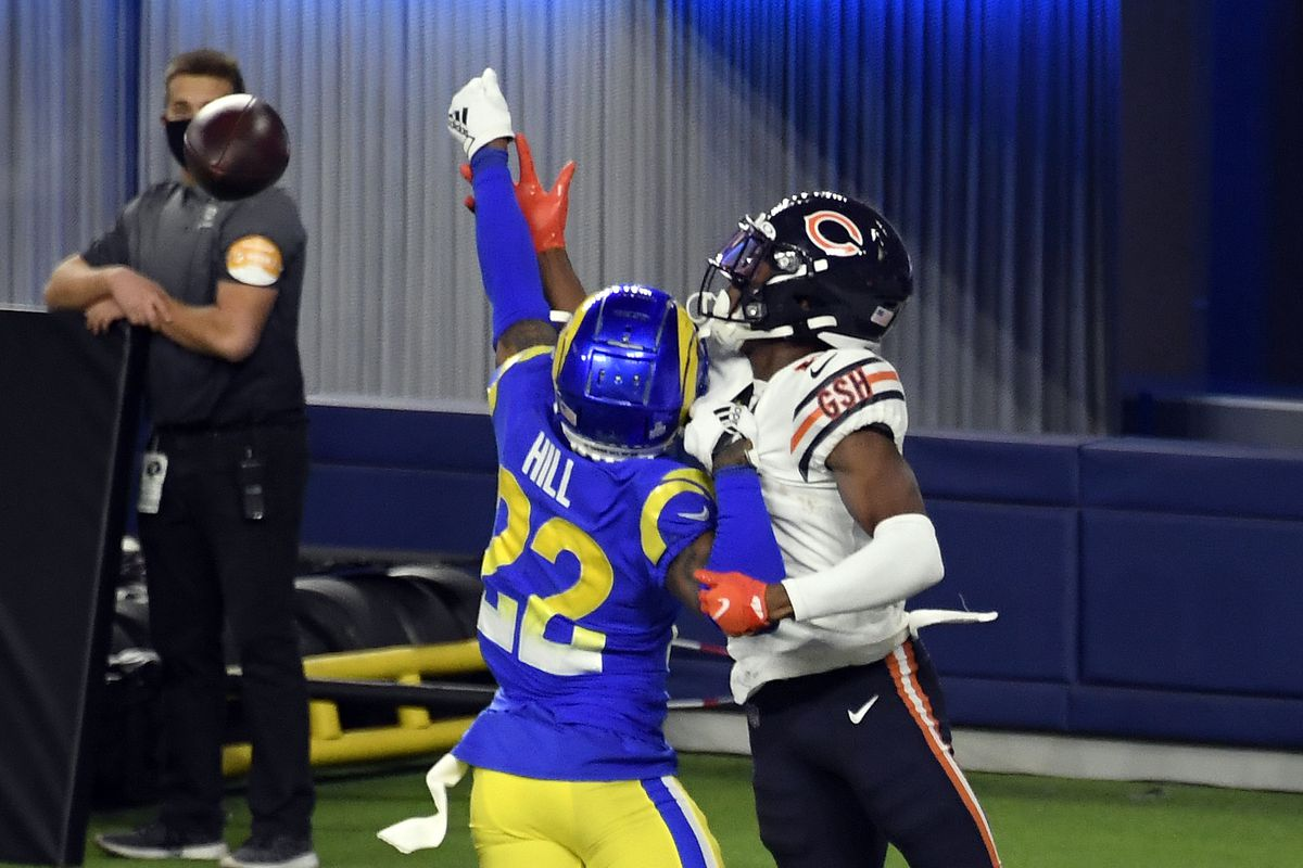 Rams Advanced Stats Aaron Donald S Pressures And The Nfls Best Cb Trio Turf Show Times