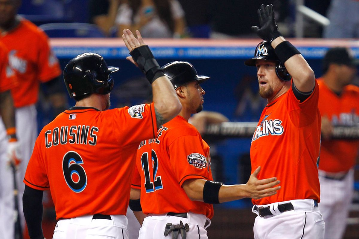 three guys who ain't Marlins no more