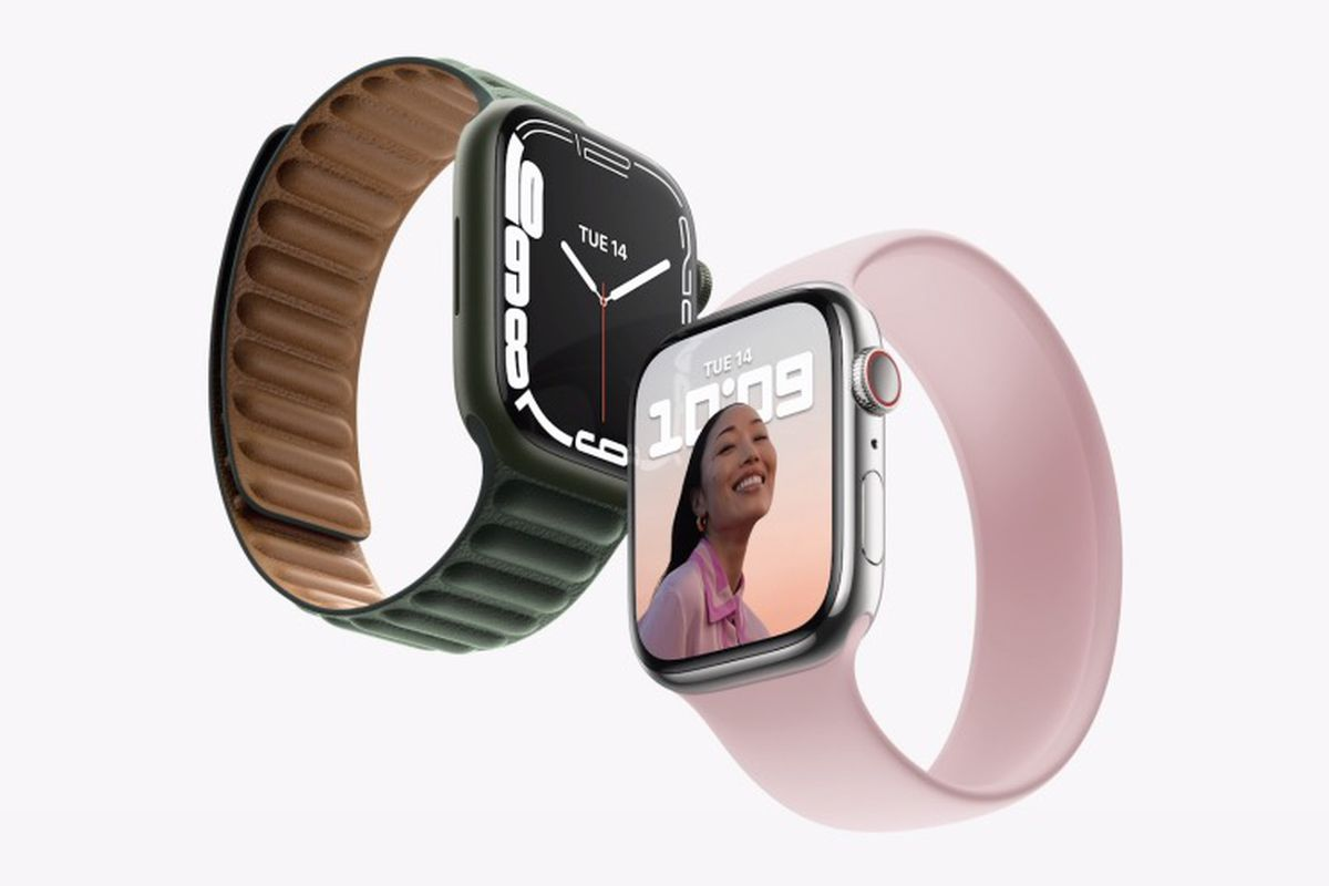 The Apple Watch Series 7 has a brand-new look