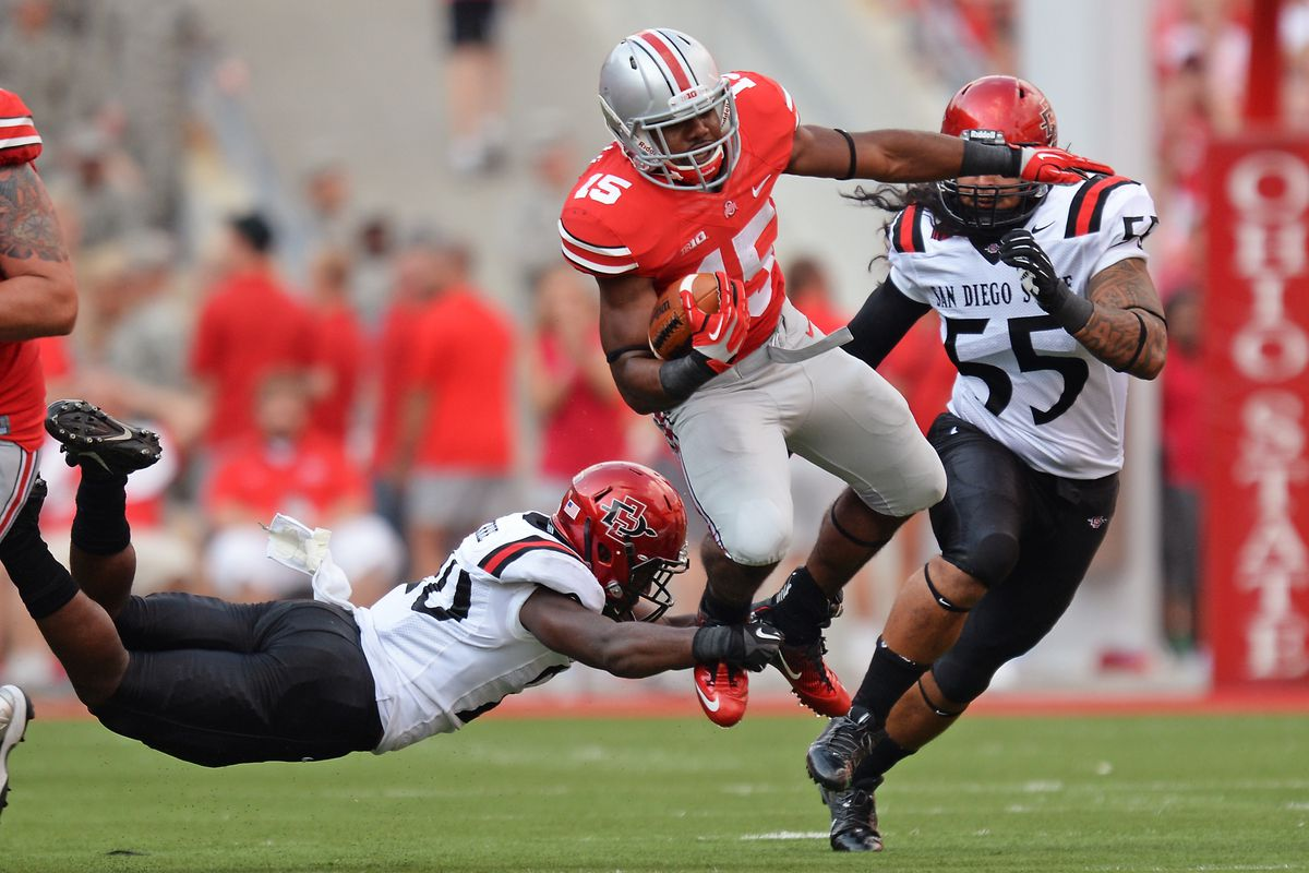 Can Ezekiel Elliott help the Buckeyes get to at least 11 wins this year?