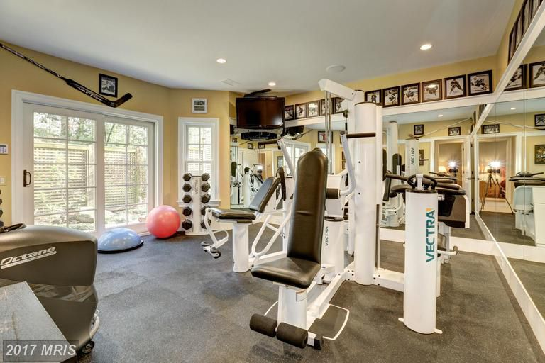 Multi million dollar maryland homes with full gyms curbed dc