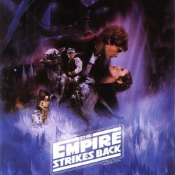 """A promotional poster for """"Star Wars: Episode V — The Empire Strikes Back"""" (1980), one of the many films from the 1980s that the hit Netflix show """"Stranger Things"""" references. The second season of """"Stranger Things"""" will be available on Oct. 27."""