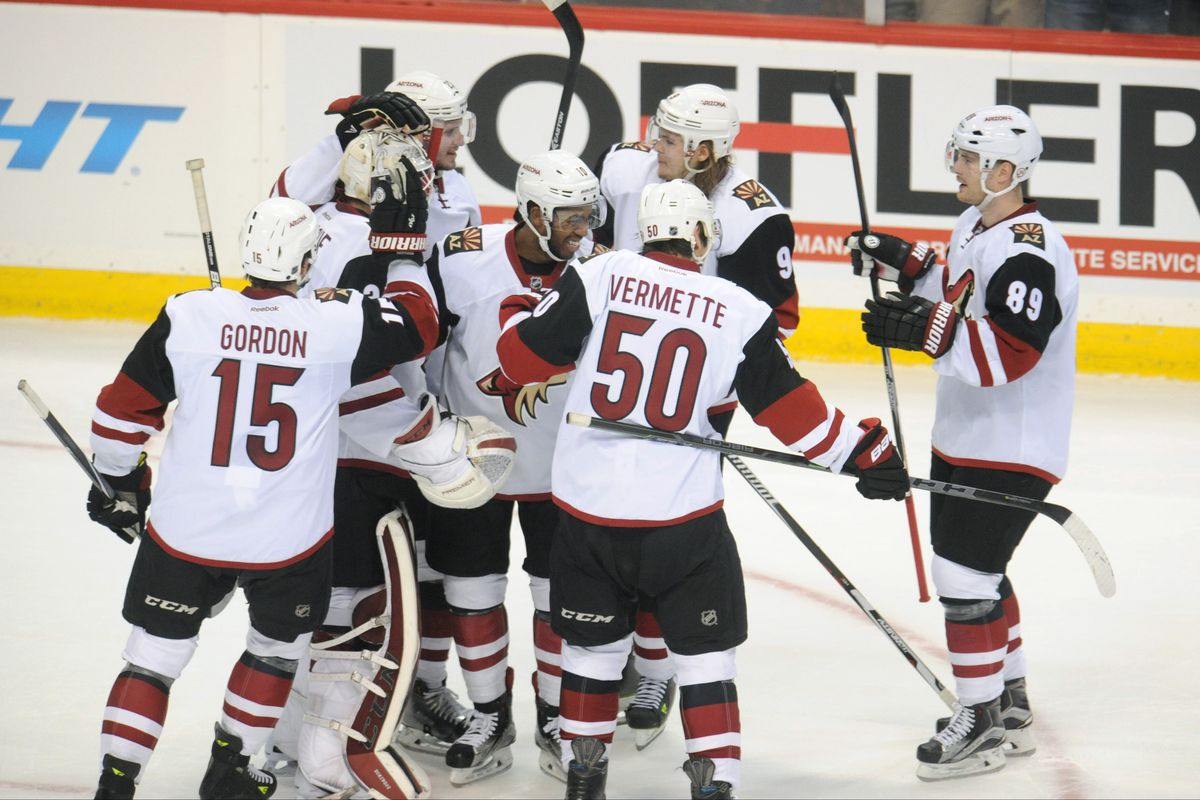 The Coyotes had no business winning, but did.