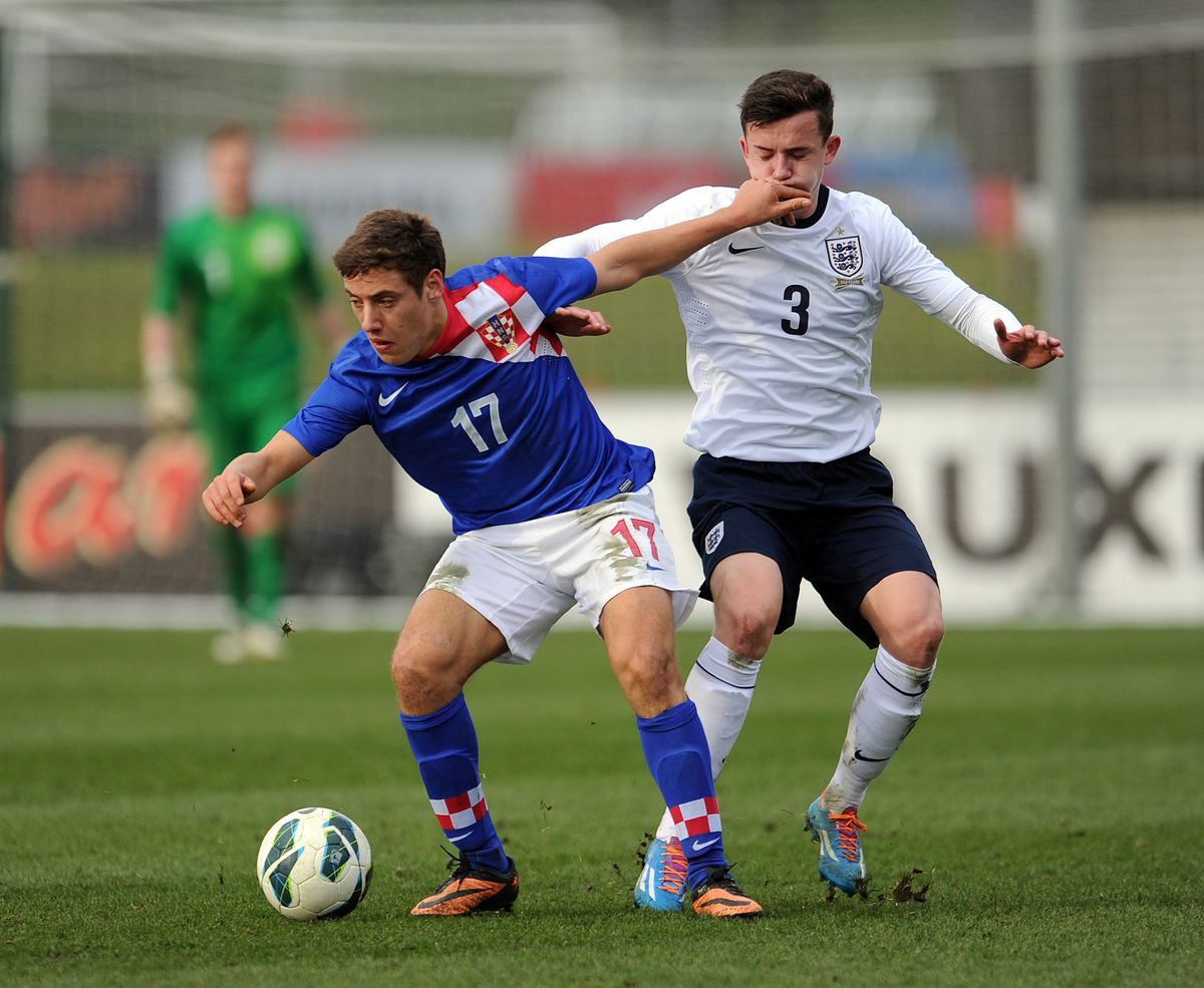 England v Croatia - U18 International Friendly