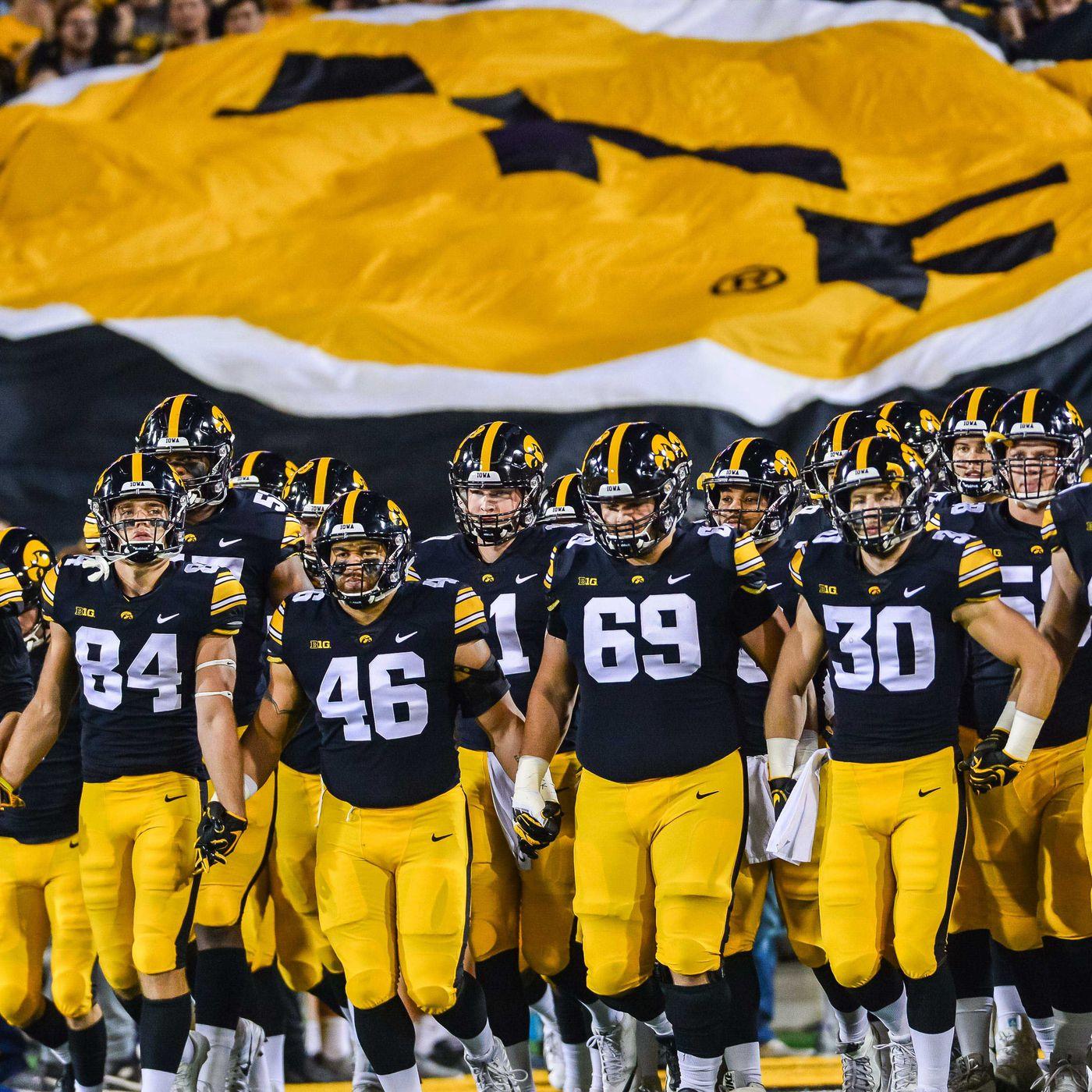 2020 Iowa Football At Purdue Black Heart Gold Pants