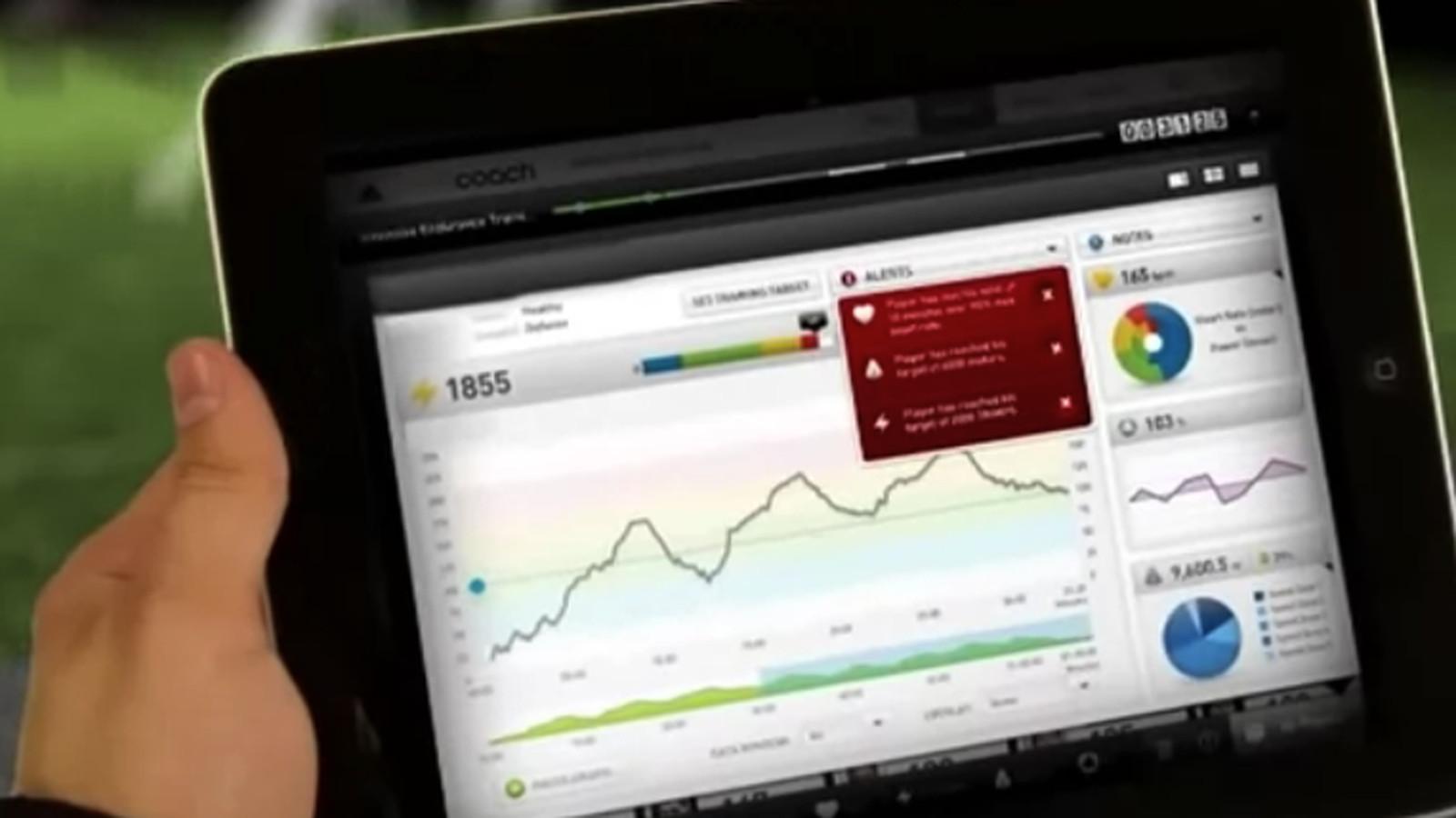 Adidas miCoach team tracking system bringing 'smart soccer ...