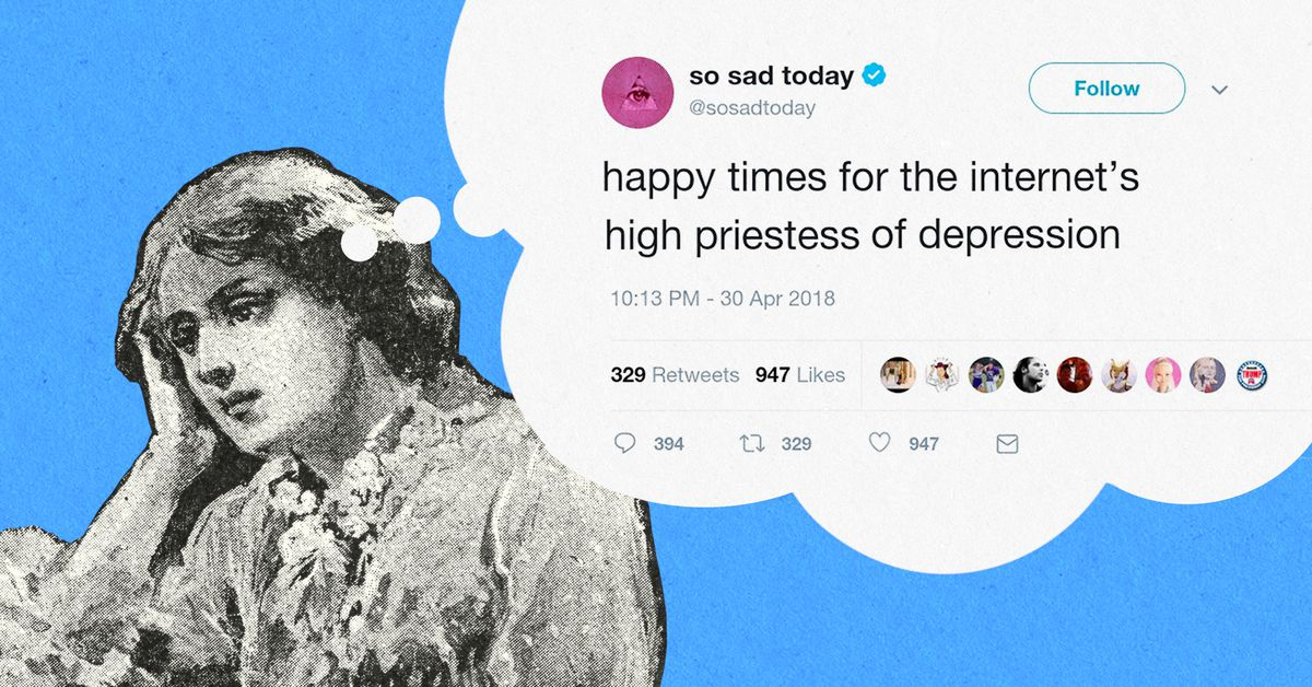 Why Is The Internet S High Priestess Of Depression So Happy