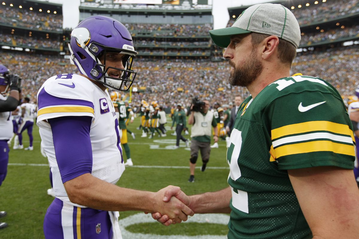 Packers vikings line betting on favorite professional horse betting advice football