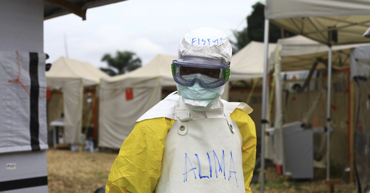 Ebola showed up in a war zone. It's not going well.