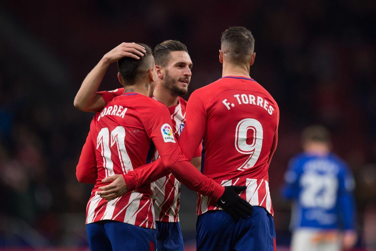 Atletico Madrid v Deportivo Alaves - La Liga