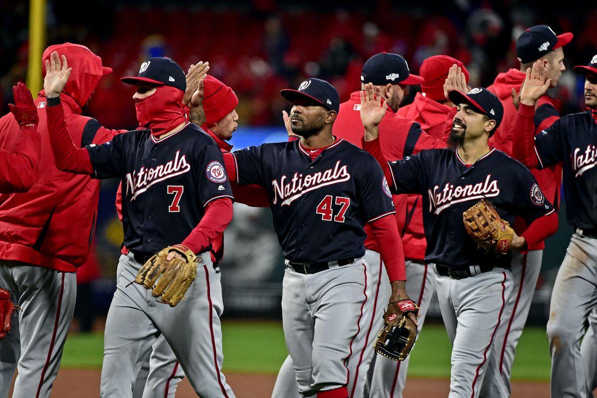 MLB: NLCS-Washington Nationals at St. Louis Cardinals