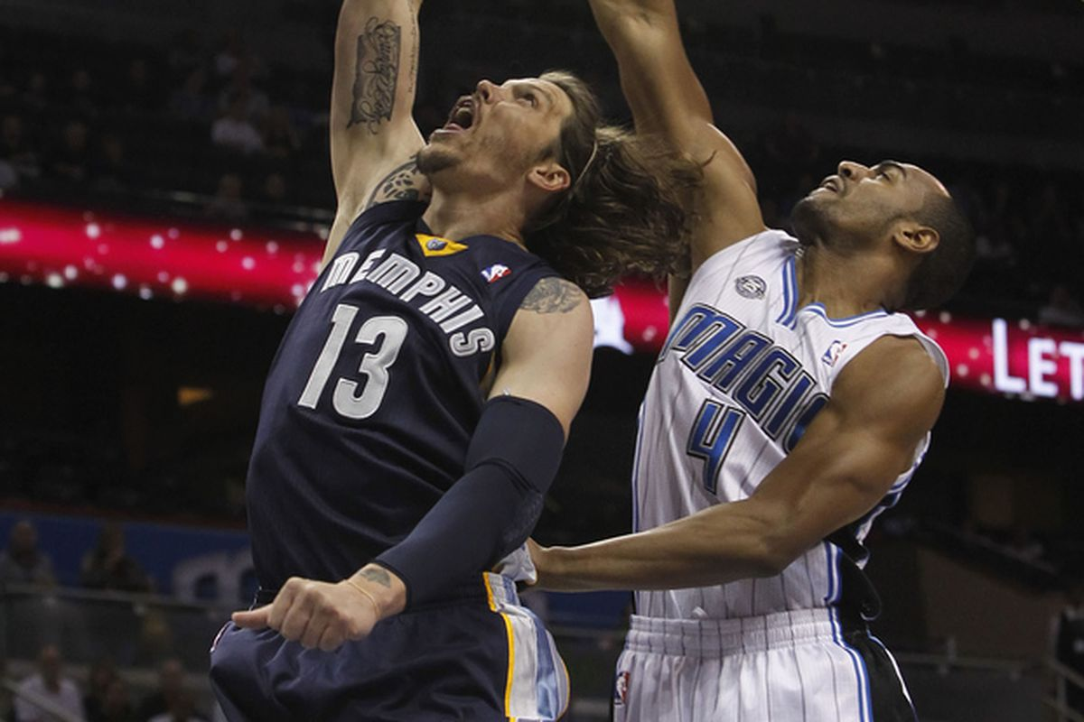 Mike Miller and Arron Afflalo