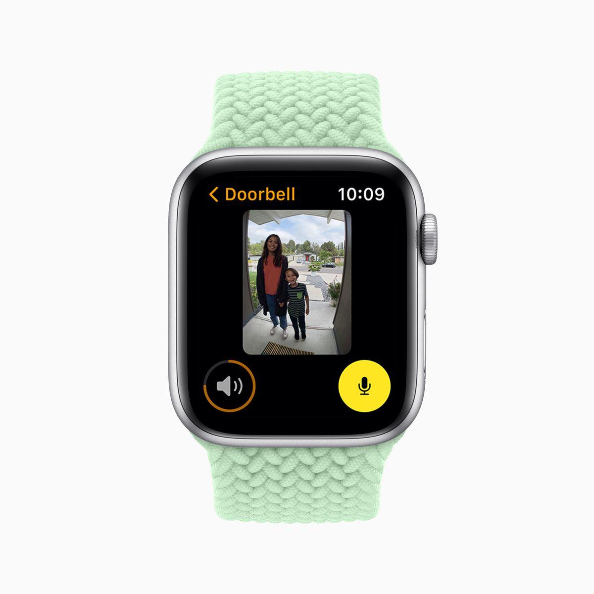 apple wwdc21 watchos8 home doorbell 06072021