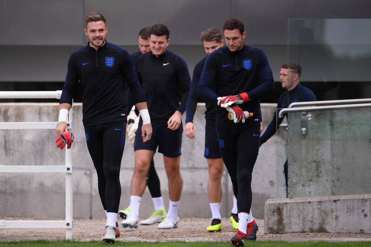 Southampton 'keeper Alex McCarthy earned his first England