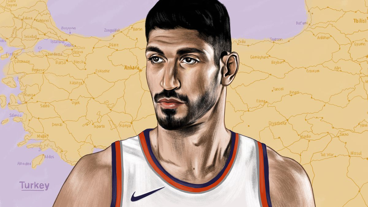 d46fed6348e6 Enes Kanter Is the Most Beloved Man on NBA Twitter—and Hated in His ...