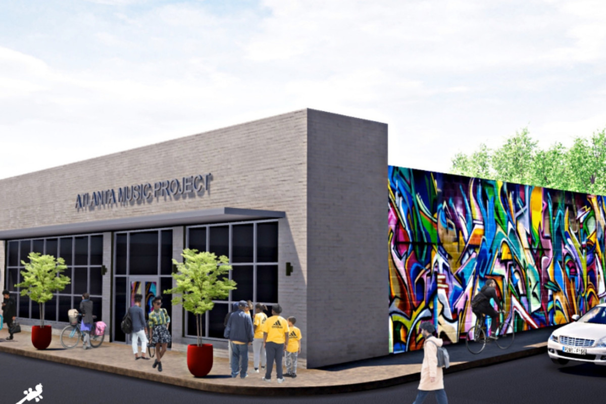 A rendering of the new Atlanta Music Project HQ.